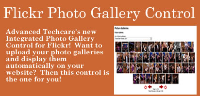 Flickr Picture Gallery Control